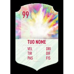 FIFA FUT 20 card Summer Heat nominato personalizzata