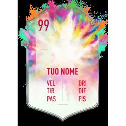 FIFA FUT 20 card Summer Heat personalizzata