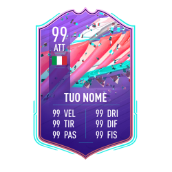 FIFA FUT 21 Card FUT Birthday personalizzata