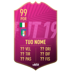 Card Futties personalizzata