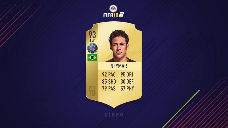 carta-neymar-fifa-utlimate-team-18
