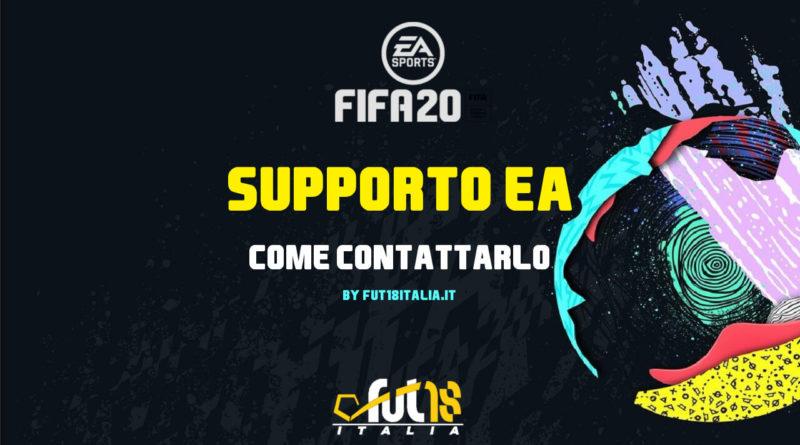 Come contattare il supporto EA Sports