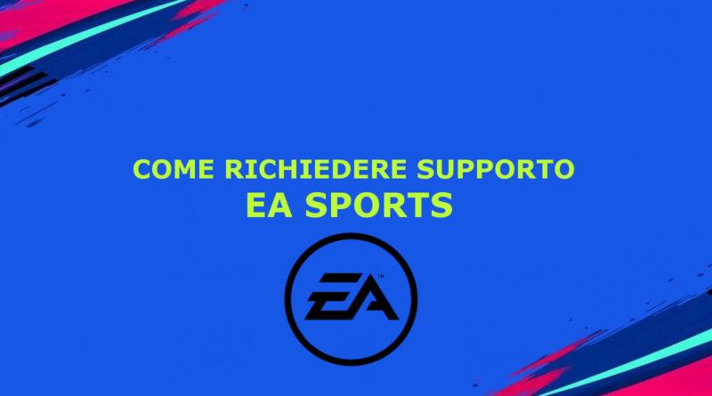 Come richiedere supporto EA Sports dal servizio clienti