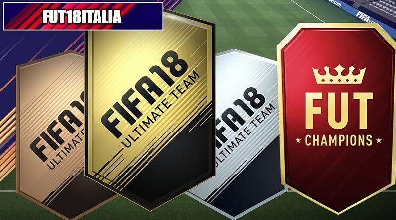 Lista dei pacchetti disponibili in FIFA 18 Ultimate Team