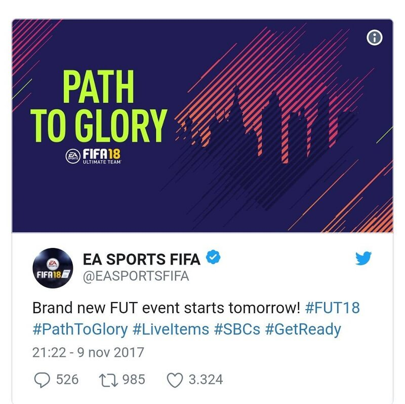 path-to-glory-fut-18