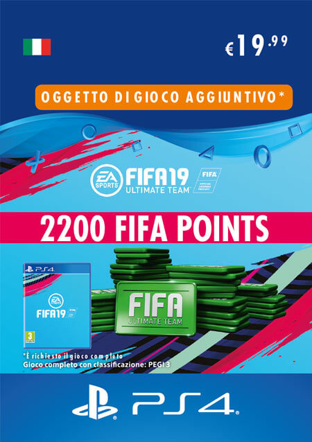 2.200 FIFA Points per PS4 acquistabili al Gamestop