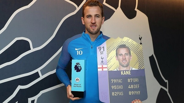Kane Player of the Month di dicembre per la seconda volta