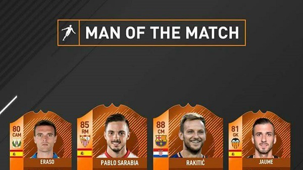 Primi giocatori MOTM dedicati alla Coppa del Re disponibili in FUT 18