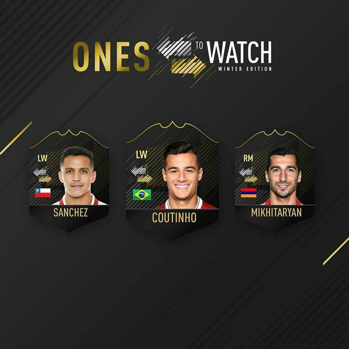 Ones to Watch invernali, Sanchez, Coutinho e Mkhytarian a breve disponibili