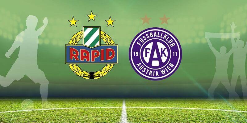 Derby di Vienna nel campionato austriaco fra Rapid ed Austria Vienna, possibile speculazione tramite compravendita