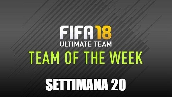 Team of the Week 20 dal 31 gennaio disponibili su FIFA 18