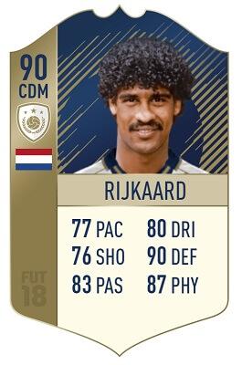 Rijkaard icona Prime su FUT 18, la carta dell'olandese ha 90 di overall