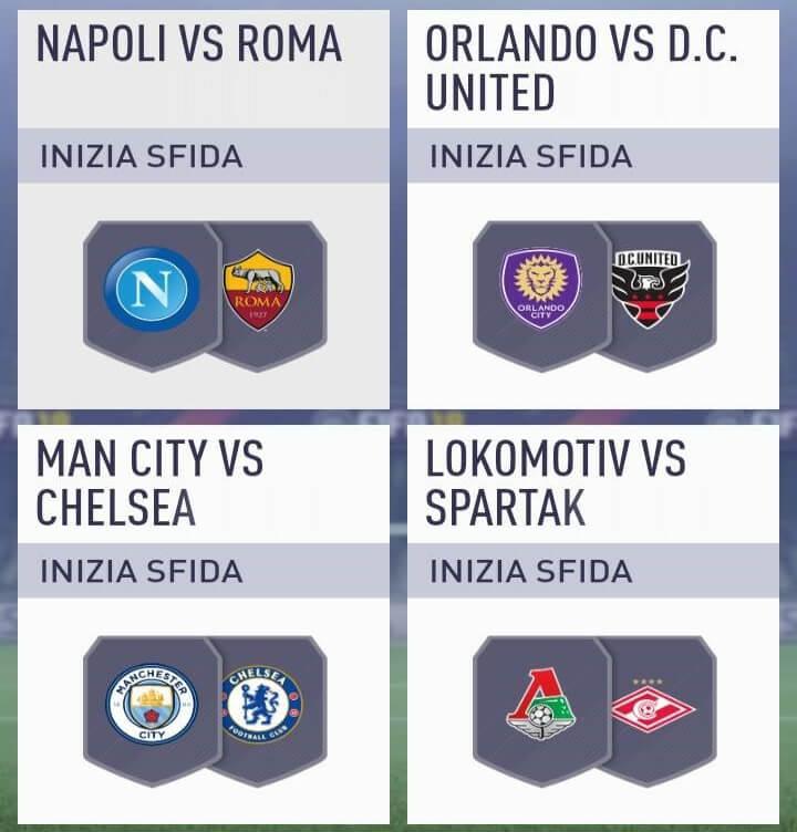 Match della sfida Incontri Principali del 27 febbraio