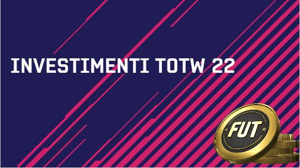 Investimenti nel Team of the Week 22 grazie al Capodanno Lunare cinese su FUT 18