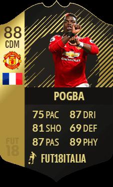Pogba IF 88 CDC su FIFA Ultimate Team