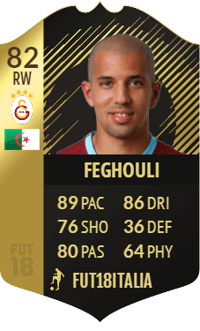 Feghouli IF 82, TOTW 25