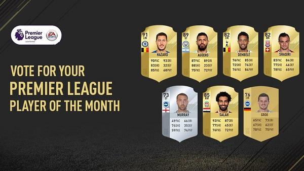 Candidati al vincitore di Player of the Month di febbraio, Salah, Hazard e altri