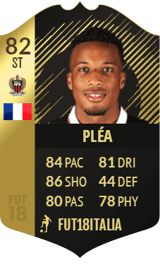 Plèa IF 82, nel Team of the Week 26