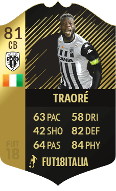 Traore IF 81, TOTW 25