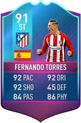 Fernando Torres SBC FUT Birthday in FIFA 17