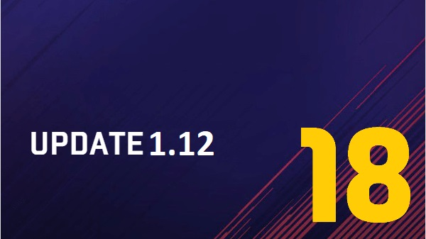 FIFA 18 update per XBOX One e PS4 v 1.12