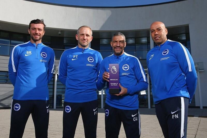 Houghton allenatore del Brighton vince il premio di allenatore del mese