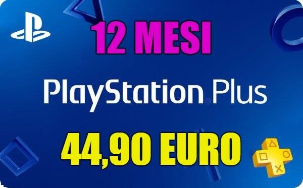 PSN Plus da 12 mesi in super offerta a soli 44,90 euro anzichè 59,90