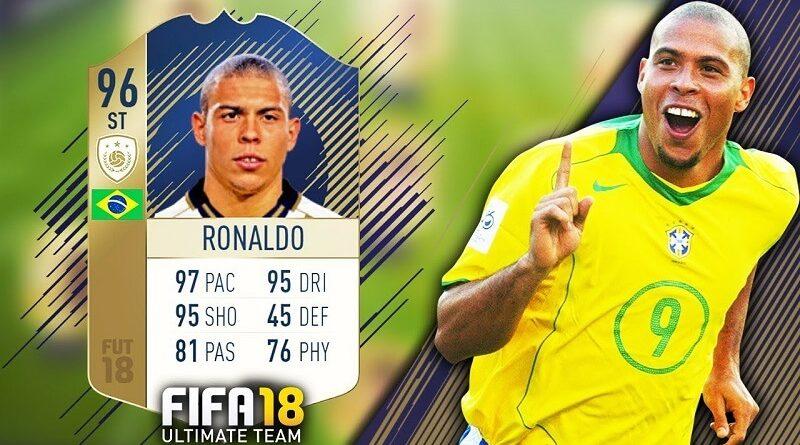 Ronaldo 96 icona prime, disponibile ora la sfida e nei pacchetti