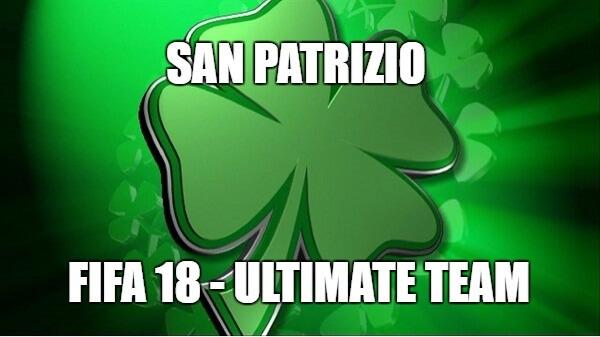 San Patrizio, evento dedicato ai giocatori irlandesi in arrivo su FIFA 18 Ultimate Team