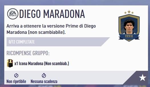 SBC di Diego maradona Icon Prime disponibile, ecco le soluzioni