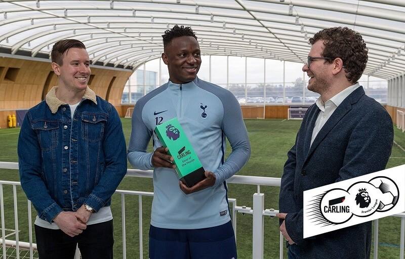 Wanyama vince il premio di gol del mese di febbraio in BPL