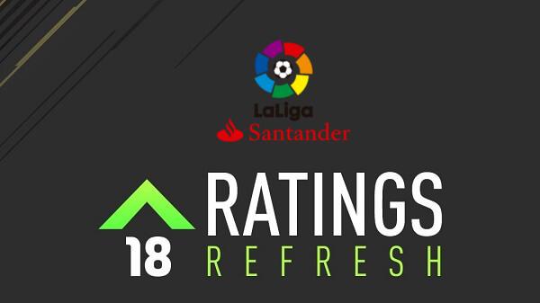 Winter upgrades del campionato spagnolo (Liga Santander) in FIFA 18