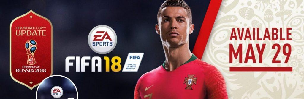 Ordina ora FIFA 18 con il DLC gratis dedicato ai Mondiali di Russia 2018