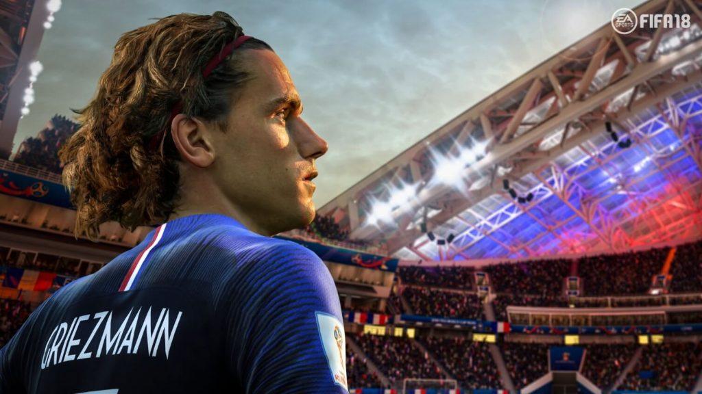 Griezmann con la Francia pronto per scendere in campo