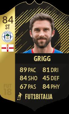 Grigg SIF, overall 84