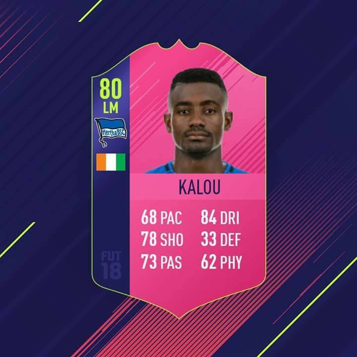 Kalou, versione SWAP, scambia giocatore di FUT