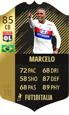 Marcelo SIF, overall 85