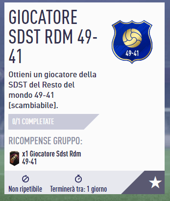 SBC Team of the Season del Resto del Mondo, giocatori 41-49
