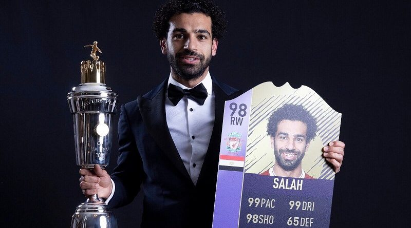 Salah vince il premio di Player of the Year della Premier League