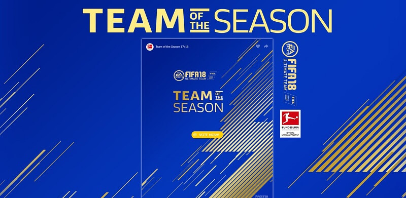 Vota ora il Team of the Season della Bundesliga