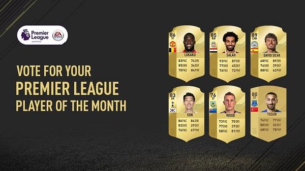 Lukaku, Son e Salah fra i candidati alla vittoria del Player of the Month di marzo