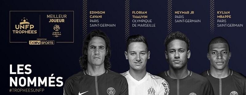 Mbappe, neymar, Cavani e Thauvin, i candidati al POTY della Ligue 1