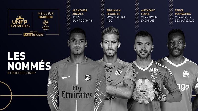 Portiere dell'anno in Ligue 1 Conforama, ecco i candidati