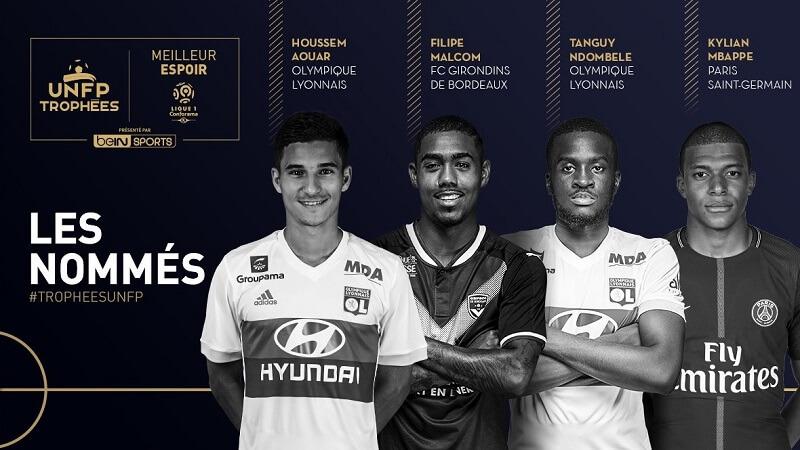 Candidati al premio di Giovane dell'Anno della Ligue 1 francese