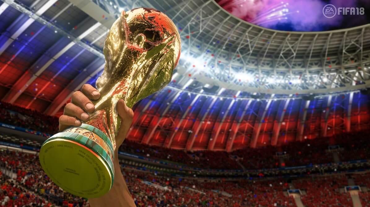 Coppa al cielo di FIFA World Cup, Russia 2018