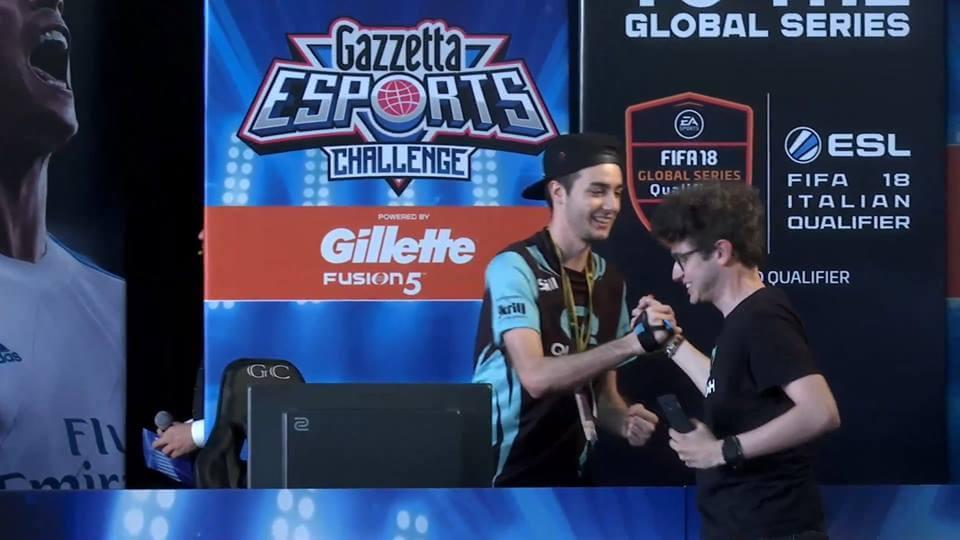 Diego Crazy FAT Gamer è il vincitore del primo Gazzetta eSports Challenge di FIFA 18
