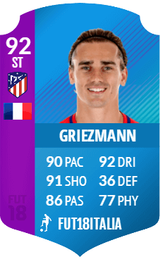 Griezmann SBC premium Liga Santander