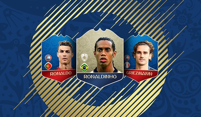 Nuove icone in arrivo su FIFA 18 Ultimate Team grazie al DLC dei Mondiali