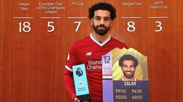 Salah player of the month di marzo in BPL