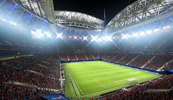 Stadio di San Pietroburgo, Mondiali FIFA Russia 2018 in arrivo su FIFA